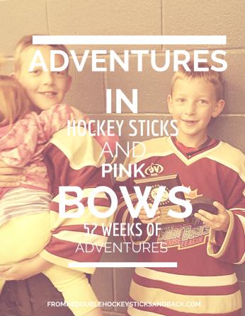 #hockeysticksandpinkbows cover page