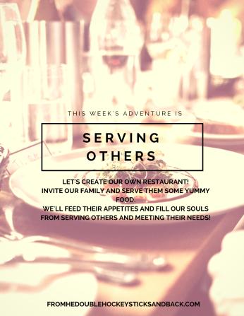 #serving #restaurant #servanthood